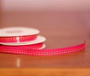 Fita Decorativa - Traçinhos pink