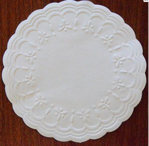 Porta Copos Rendado De Luxo - 10cm