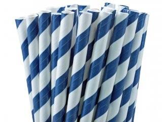 Canudo Papel Azul Marinho