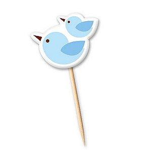 Lollipop Pássaro Azul -(12 unidade) *Queima de estoque*