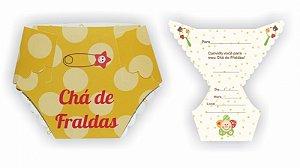 Convite - Chá De Fraldas