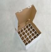 Caixa Para Transporte De Cupcake - Transporta 25 Unidades
