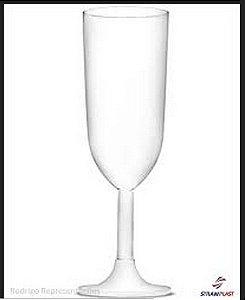 Taça Champagne Branca - 220ml