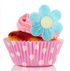 Forminha Cupcake Pink Dots