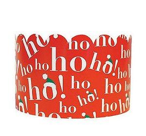 Cinta Para  Mini  Panetone-  Ho-ho-ho