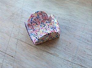 Forminha Pétalas- Granulado Colorido