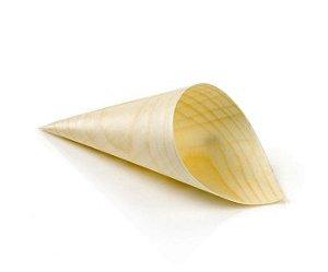 Mini Cone Palha De Bambu