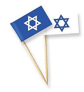 Bandeiras - Estrela De Davi (12 unidades)