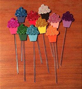 Espetinho Cupcake (10 unidades)