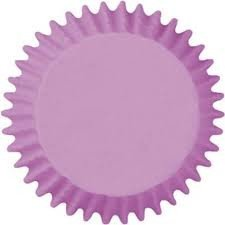 Forminha Cupcake - Lisa Lilás