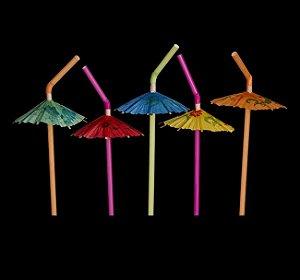 Canudo Neon Guarda-Chuva (PROMOÇÃO)
