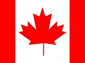 Palito Bandeira Países- Canada