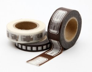 Washi Tape Hollywood - Marrom