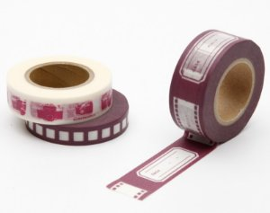 Washi Tape Hollywood - Rosa Antigo