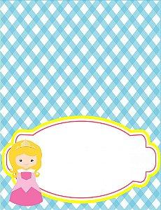 Place Card Princesa Loira (6 unidades)