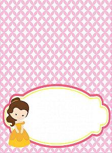 Place Card Princesa Morena (6 unidades)