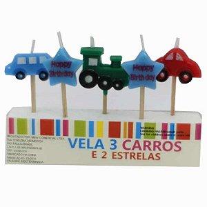 Vela Carros E Estrelas