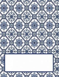 Place Card - Azulejos (6 unidades)