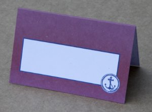 Place Card - Anchor (6 unidades)