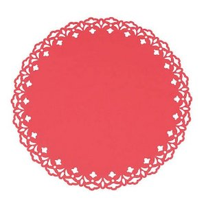Sousplat - Liss Vermelho (6 unidades)