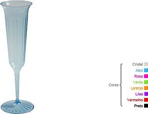Taça Champagne  - 130ml - Transparente Modelada