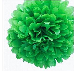 Pompom de Papel 35cm - Verde