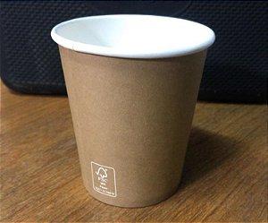 Copo De Papel 120ml - Kraft (Pacote c/ 50 uni) -PROMOÇÃO