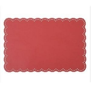 Jogo Americano - Blossom Vermelho