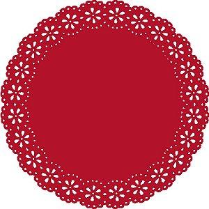 Sousplat - Blossom Vermelho (6 unidades)