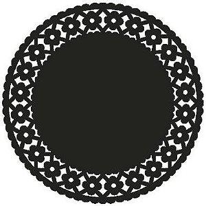 Jogo Americano redondo- Daisy Colorido (100 unidades)