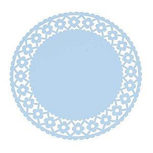 Sousplat - Daisy Azul