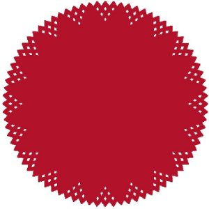 Sousplat - Pine Vermelho (6 unidades)