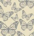 Guardanapo De Papel - Flutter Silhouettes