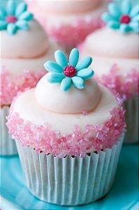 Forminha Cupcake Mini - Várias Cores!