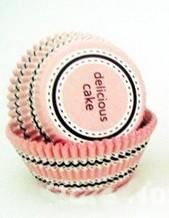 Forminha Forneável Para Cupcake -  Delicious Rosa