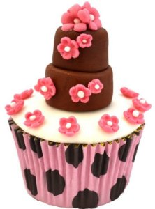 Forminha Cupcake - Bolinhas