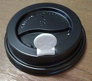 Fixador p/ tampa Copo de Papel -BRANCO (Pacote com 500 uni) STOPPER