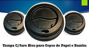 Tampa Bico P/ Copo De Papel 300ml/500ml - Varias cores (50 unidades)
