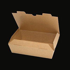 Caixa box papel kraft 700ML (Caixa 200 uni)