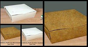 Caixa Delivery Quadrada - SEM COLA - Vários modelos