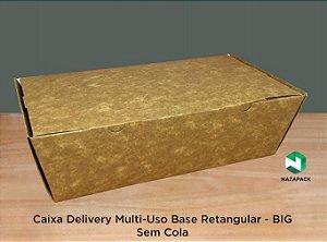 Caixa Delivery Base Retangular- SEM COLA - Vários modelos
