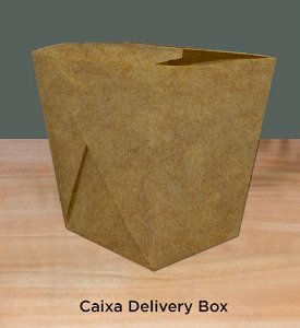 Caixa Delivery Box -Caixa 200 unidades
