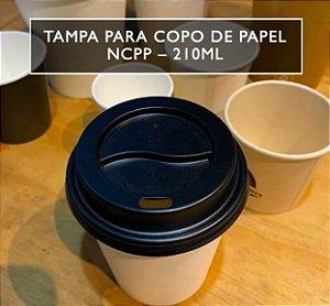 Tampa Bico P/ Copo De Papel 210ml NCPP -Varios modelos