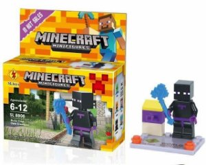 Minifigures Minecraft - Blocos De Montar - Enderman