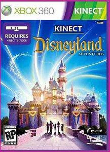 Jogo Kinect Disneyland Adventure Xbox 360 Mídia Física