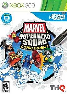 Udraw Marvel Super Hero Squad Comic Jogo Xbox 360 Usado