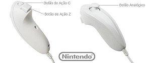 Controle Nunchuck Nintendo Wii Original