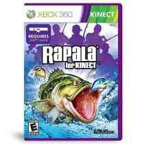 Rapala For Kinect Xbox 360 Jogo Para Kinect Midia Fisica