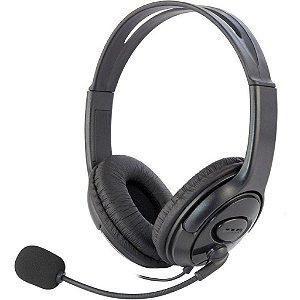Fone Headset Headphone Com Microfone Para Xbox360