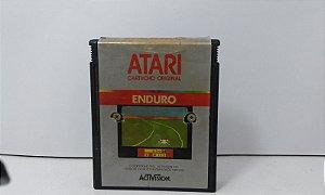 Fita Atari Enduro Jogo Antigo Vídeo Game